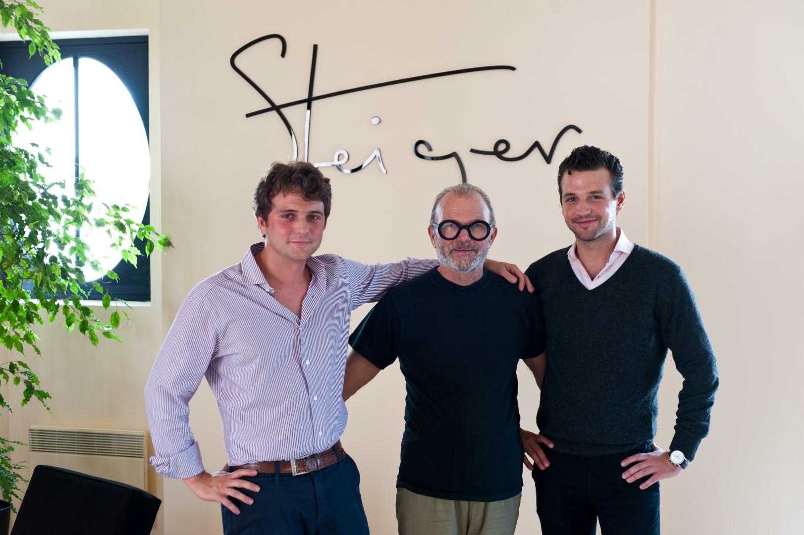 Walter, Paul & Giulio Steiger