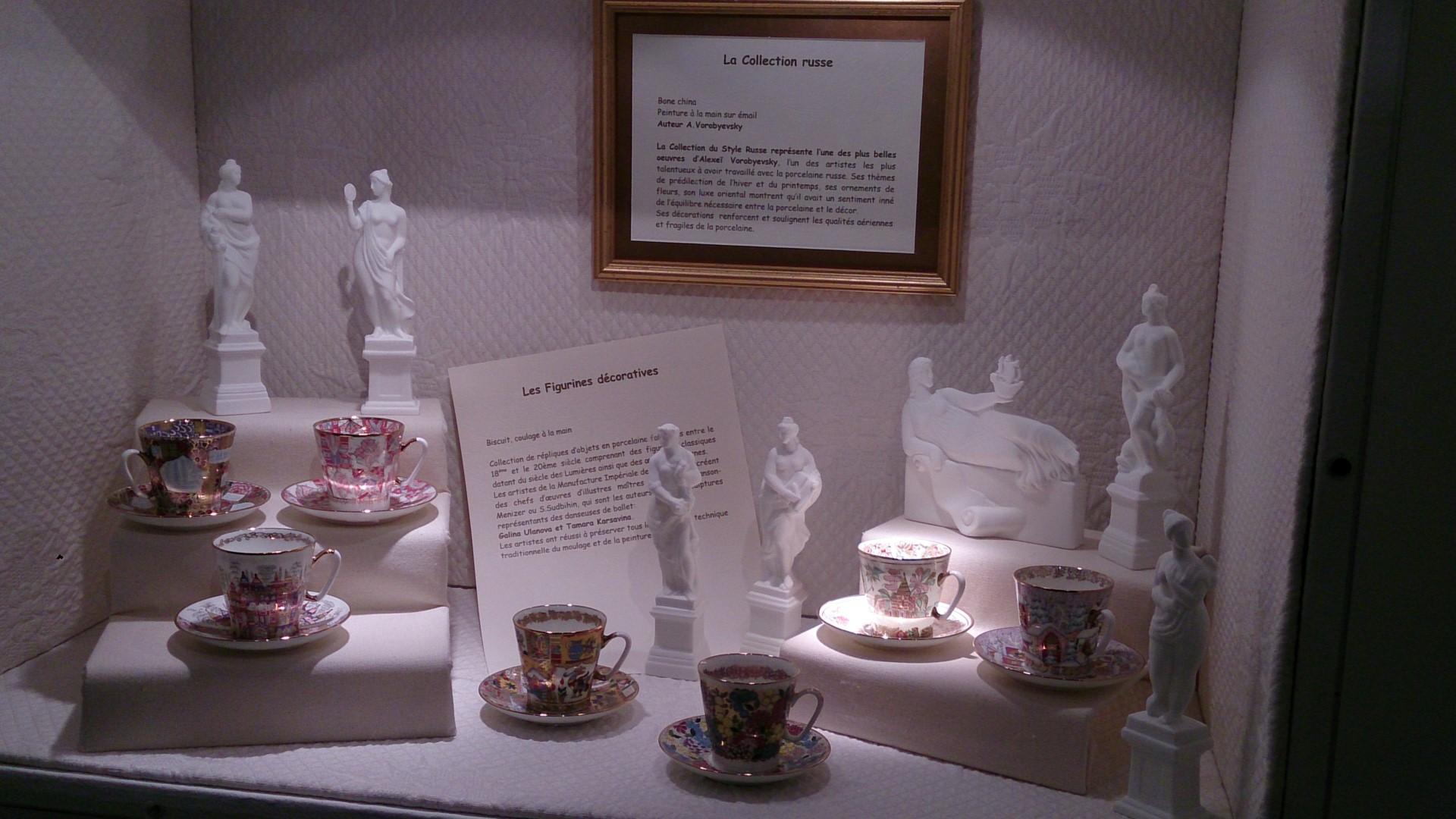 Noël à St Petersbourg - Porcelaine 02