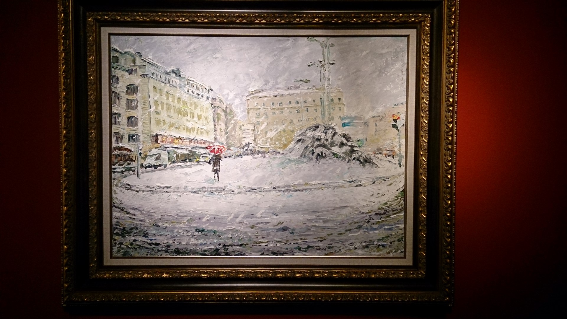 Noël à St Petersbourg - Tableau 01
